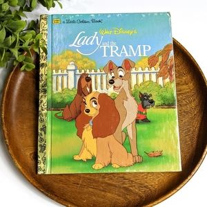 🔥BOGO🔥A Little Golden Book Lady & The Tramp